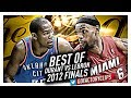 Best of LeBron James vs Kevin Durant EPIC DUEL Highlights from 2012 Finals!