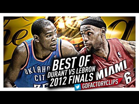 LeBron James vs Kevin Durant EPIC DUEL Highlights from 2012 Finals!