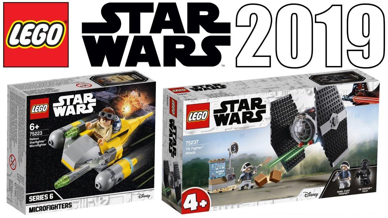 Lego Star Wars 2019 Tie Fighter Attack Naboo Starfighter Set Pictures