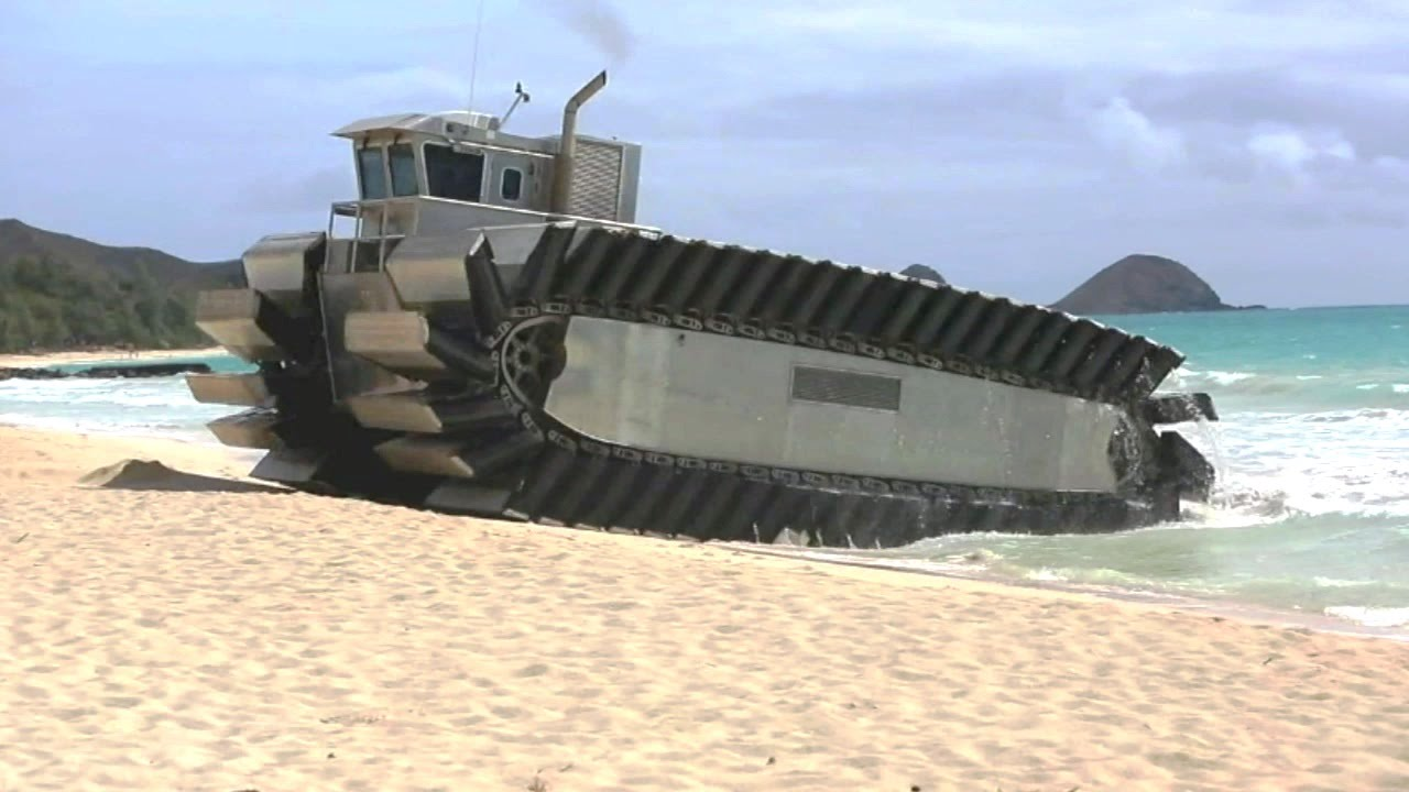 Tractor Water Lift : Us marine corps ultra heavy lift amphibious connector