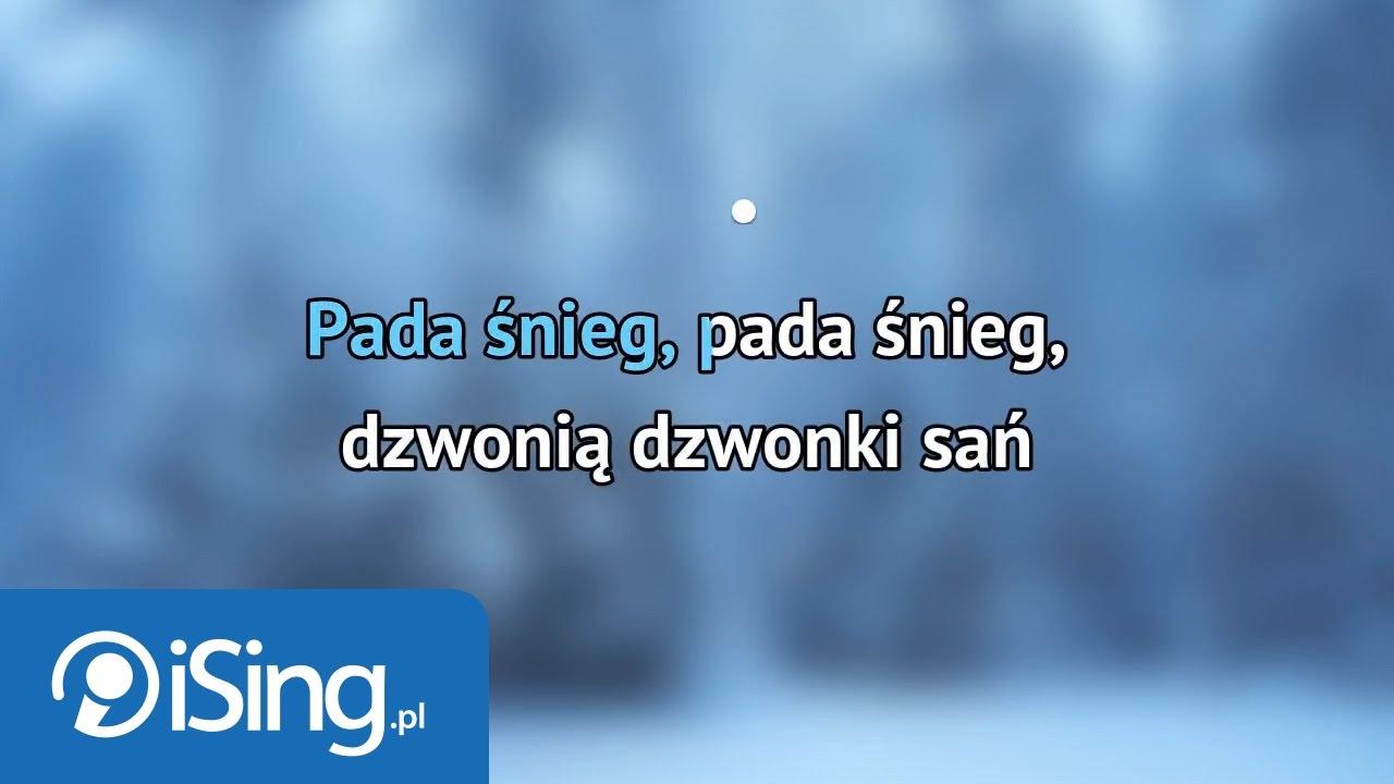 Kolęda Pada śnieg Karaoke Ising