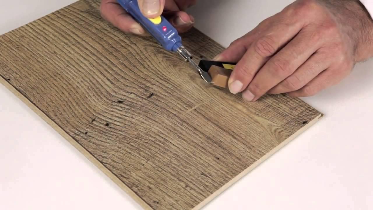 c mo usar el kit reparador de suelos laminados quick step
