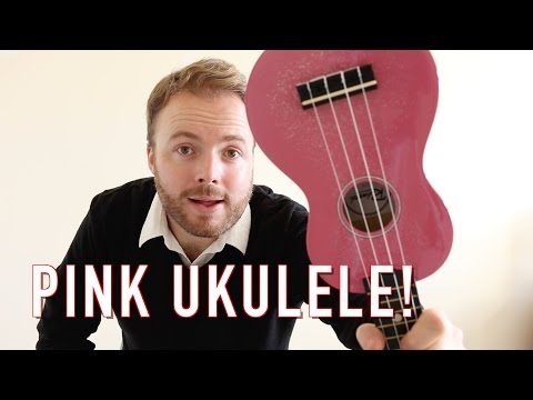 Glitter In The Air - Pink (Ukulele Tutorial)