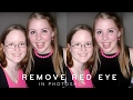 Photoshop Tutorial: Remove Red-Eye | Fix Animals & People Eye [Photoshopdesire.com]