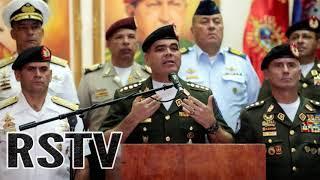 Generales Venezolanos Detenidos para disimular el Auto Atentado de Caracas