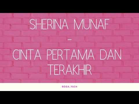 Lirik lagu Sherina Munaf - Cinta Pertama dan Terakhir