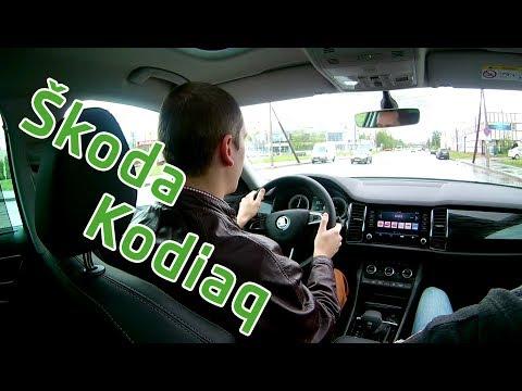 Новый Skoda Kodiaq - презентация, тест драйв, краткий обзор, толщина ЛКП
