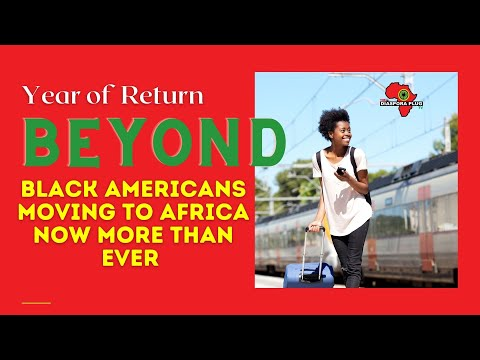 Black Americans Moving to Africa Now More than Ever