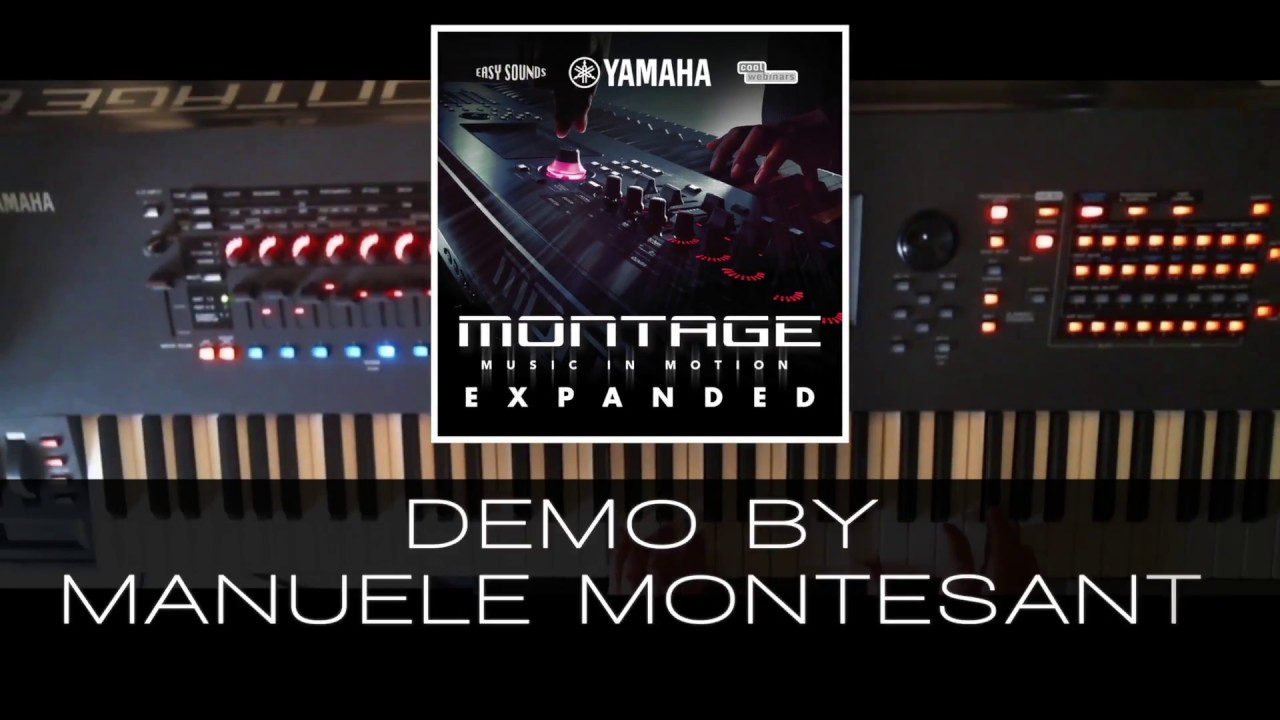 MONTAGE - Sound Library - Synthesizers - Synthesizers & Music