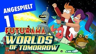 Futurama – Worlds of Tomorrow #01   Android Gameplay deutsch