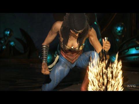Injustice 2 - Wonder Woman - Gameplay (HD) [1080p60FPS]