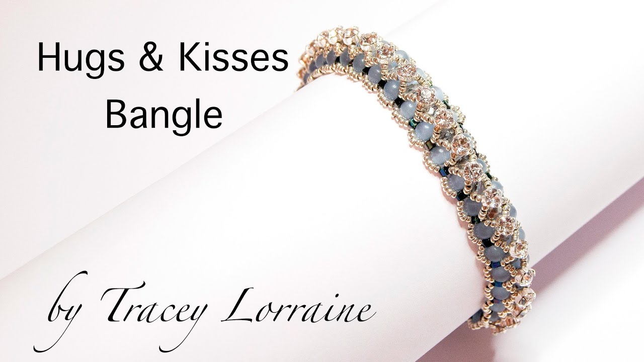 Tutorial) roman hugs & kisses bracelet (video 34) youtube.