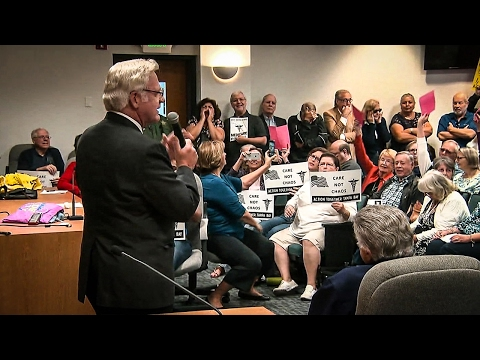 Republican Has Meltdown At Town Hall After Making Bogus Obamacare Death Panel Claim