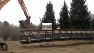 New Foot Bridge At For-mar