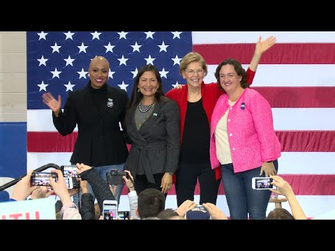 Warren Makes Final Pitch in New Hampshire