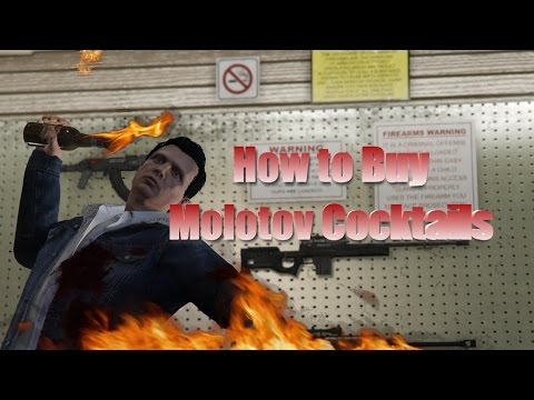 how to get molotovs in gta 5 online ps4