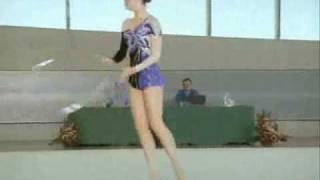 kafaya dikkat komik jimnastikci