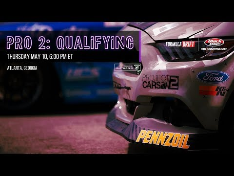 Formula Drift Atlanta - Pro 2 Qualifying LIVE!