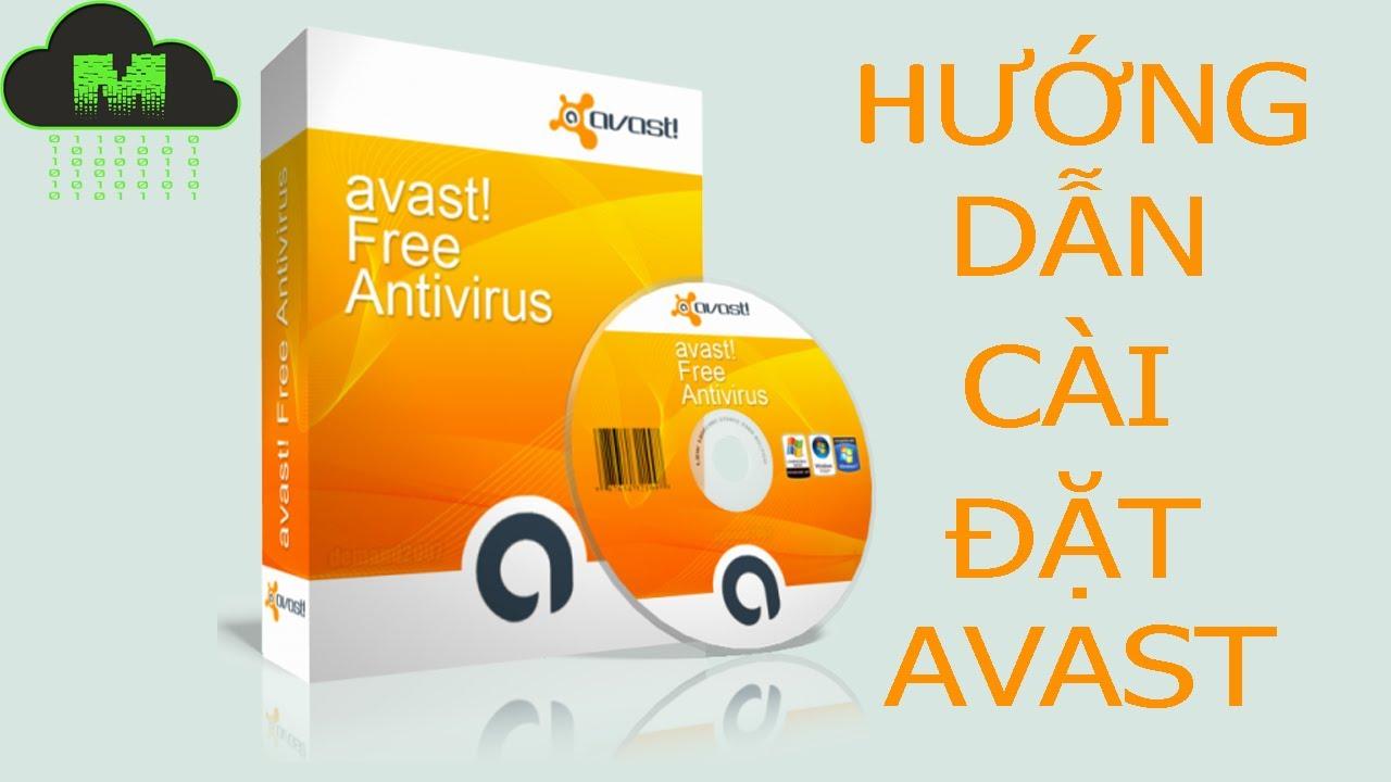 Hướng dẫn cài đặt phần mềm diệt virus Avast miễn phí