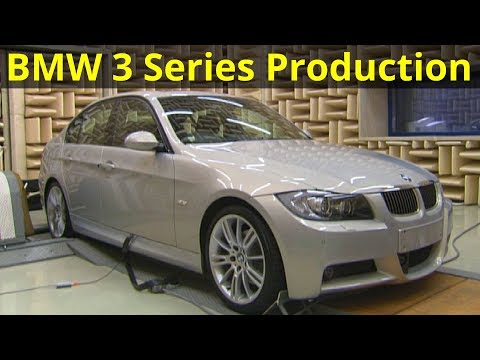 BMW E90 3 Series Production