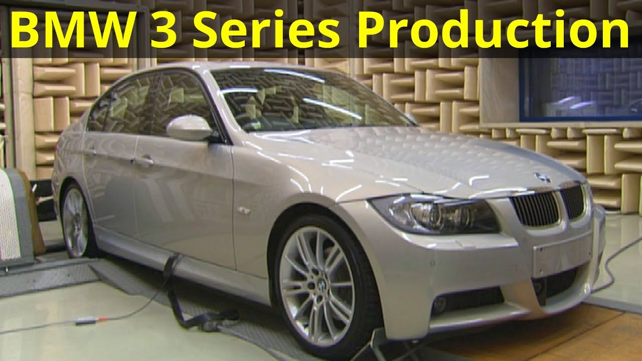 bmw 3 series e90 production youtube. Black Bedroom Furniture Sets. Home Design Ideas