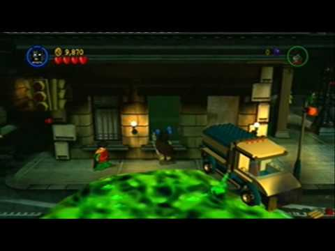 XBOX 360 - Lego Batman Gameplay - YouTube