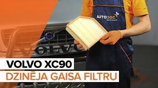 Kā nomainīt Gaisa filtrs VOLVO XC90 I - tiešsaistes bezmaksas video