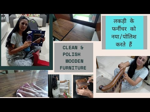 3 Tips to Clean and Polish Wooden Furniture At Home || Easy DIY Tips