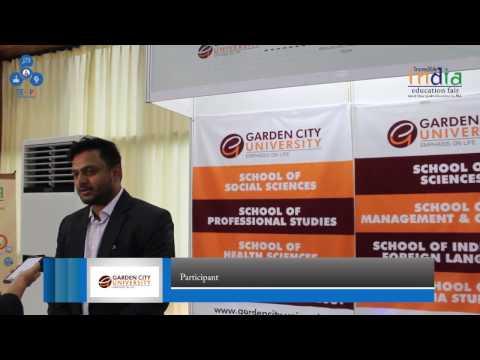 IIEF2017 Testimonial - Garden City University, Bangalore, India