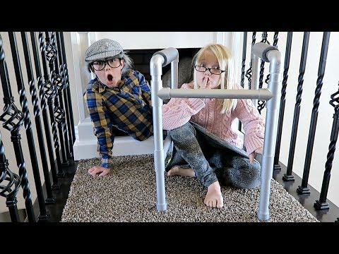 OLD PEOPLE SARDINES! | HIDE AND SEEK