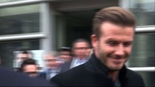 Foot: David Beckham à Paris