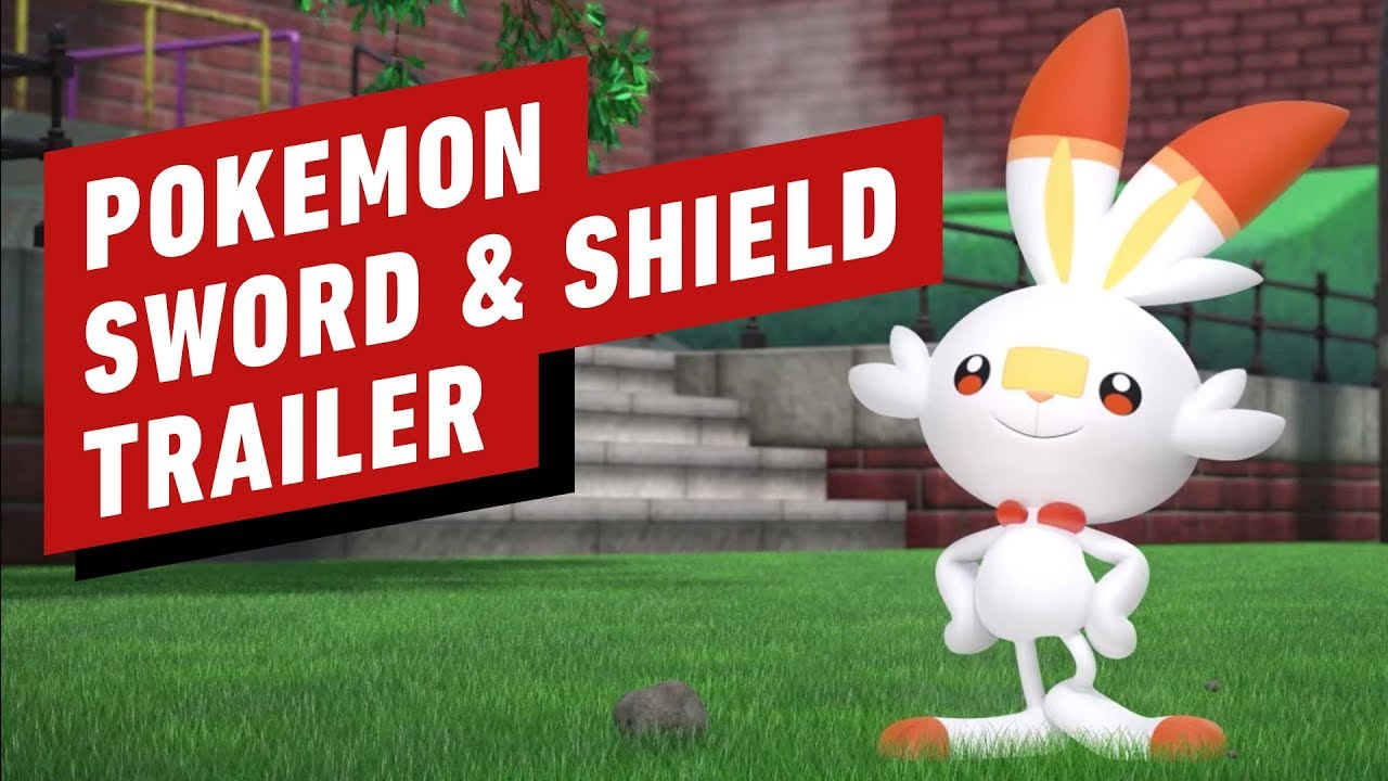 Pokemon Sword And Shield Official Reveal Trailer Youtube