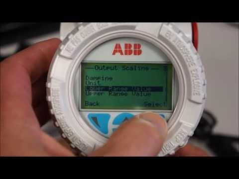 ABB 266 Basic Flow Transmitter Setup