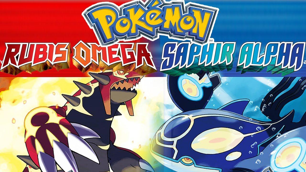 Pok mon rubis om ga saphir alpha flash infos youtube - Pokemon saphir pokemon legendaire ...