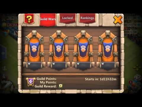 Rank 146 AlwaysHostile2 Guild Recruiting Open Spots For Guild War And Torch Battles Castle Clash