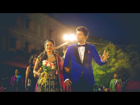 Sun TV Diya Menon & Karthik | Wedding Reception Highlights | ISWARYA PHOTOS