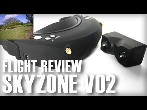 SKYZONE V02 3D FPV Goggles With DVR - Flight Review - Part 2