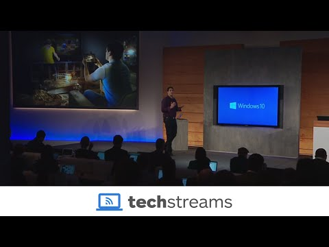 Windows10 Briefing / Consumer Preview Livestream January 2015 [HQ/ENGLISH]