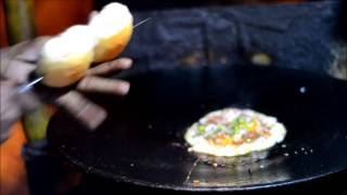 Tasty Egg Alti Palti Pav Recipe - Pune Street Food Recipes