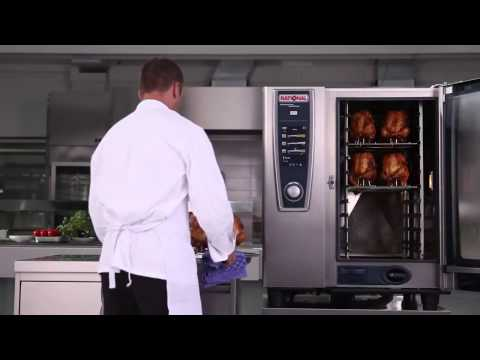 Cooking Roast Chicken Using A Rational SelfCookingCenter Combination Oven