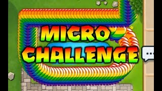 MICRO CHALLENGE! Trippy Pepper vs Leeisateam