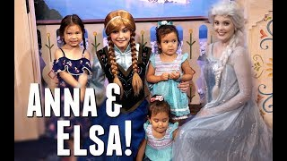 ANNA & ELSA DAY at DISNEY WORLD! - June 14, 2017 -  ItsJudysLife Vlogs