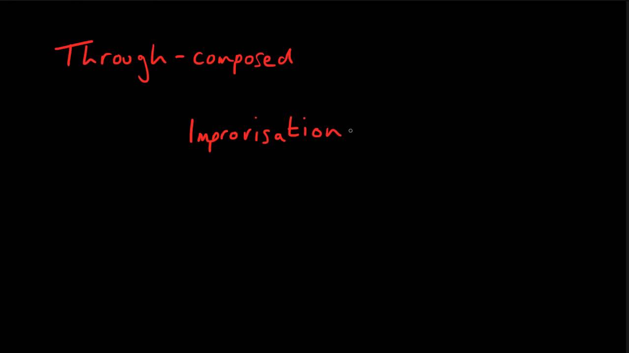 Does instrumental music ever take a through-composed form? - YouTube