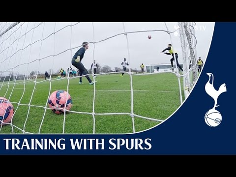 First Team Training ft. Paulinho Back-Heel Assist