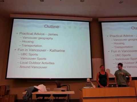 University of British Columbia (UBC) - Getting to know Vancouver 1