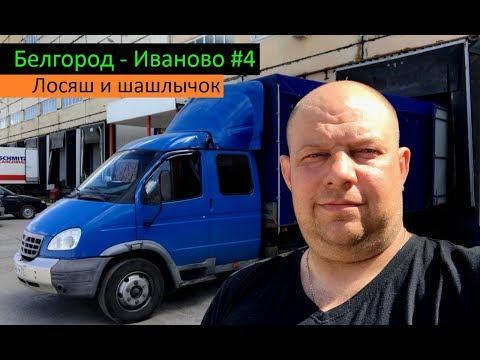 Белгород - Иваново #4 (Лосяш и шашлычок) Перевозчик РФ