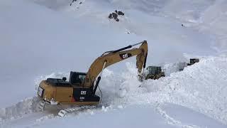 Beytüşşebap Kato Yolu karla mücadele