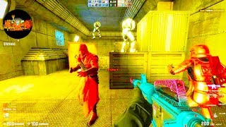Counter Strike Global Offensive - Zombie Escape mod online gameplay on Hypernova map