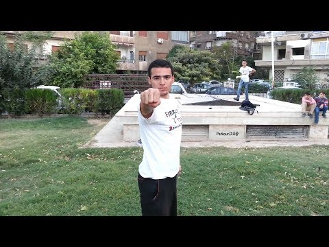 Parkour Syria (Parkour Damascus Team) - باركور سوريا // Saria Mas & Maher Alking
