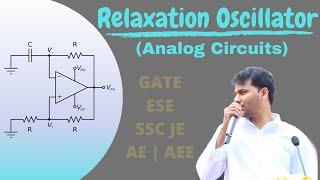 Relaxation Oscillator | Analog Circuits | GATE | EE | EC | OHM ONLINE+ App Thumb